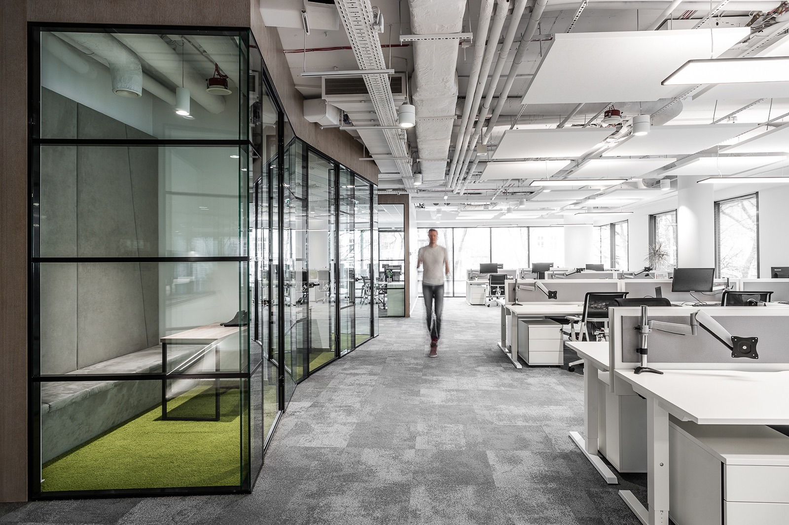 A Look Inside Takeda's Minimalist Lodz Office