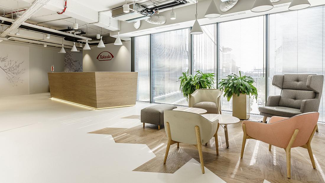 A Tour of Takeda's Sleek Warsaw Office