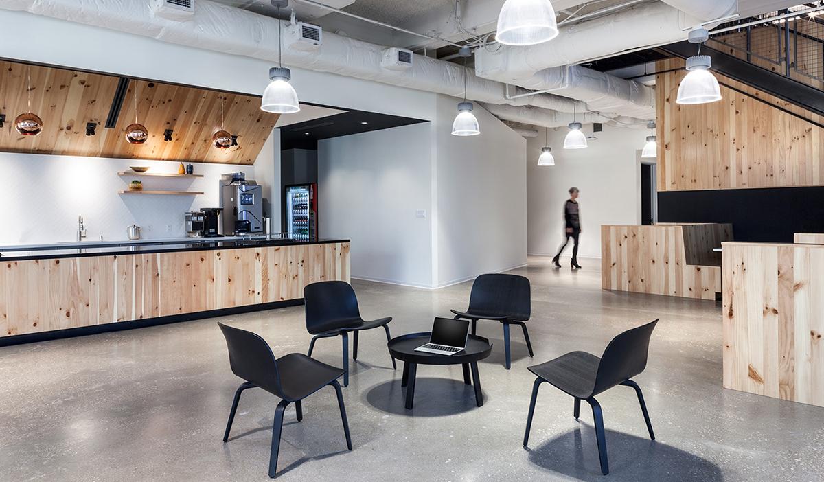 A Look Inside Team One's Modern Dallas Office