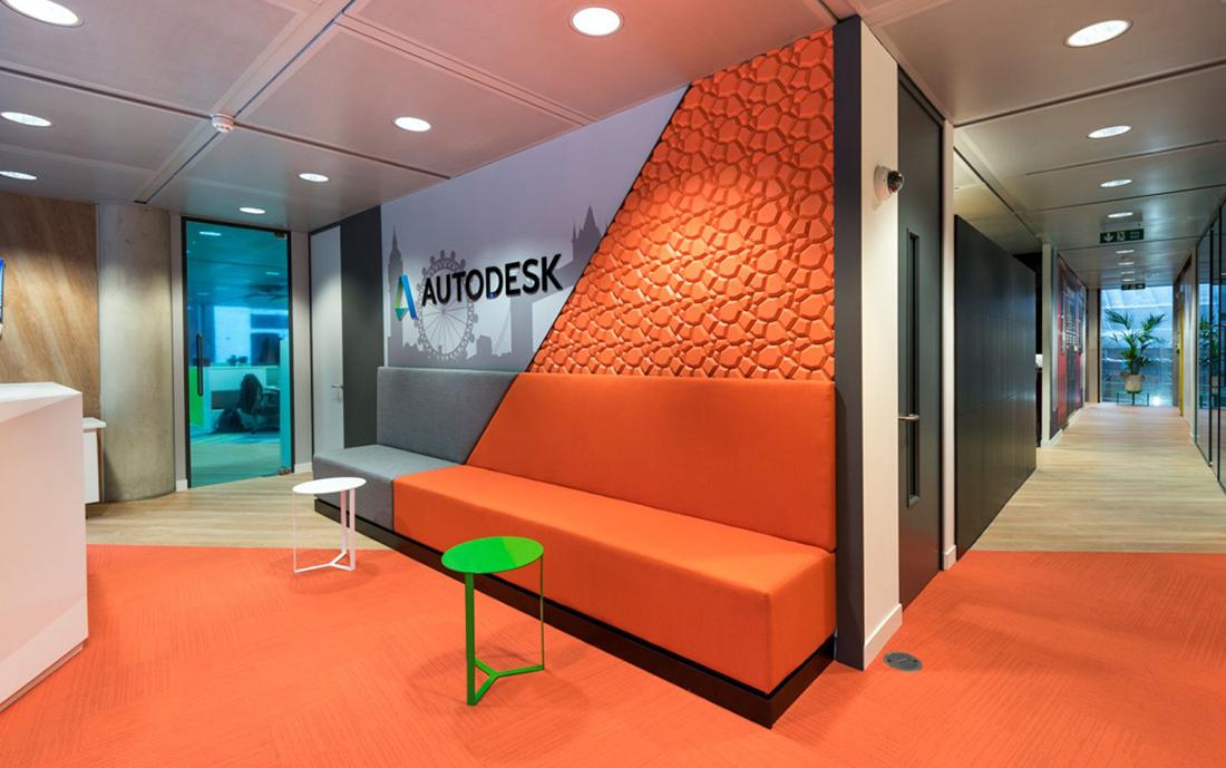 Inside Autodesk's Sleek London Office