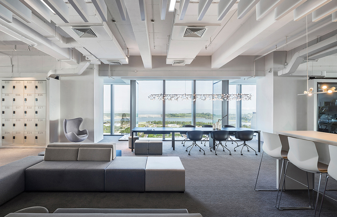 Inside Centaline Property's Elegant Shenzhen Office