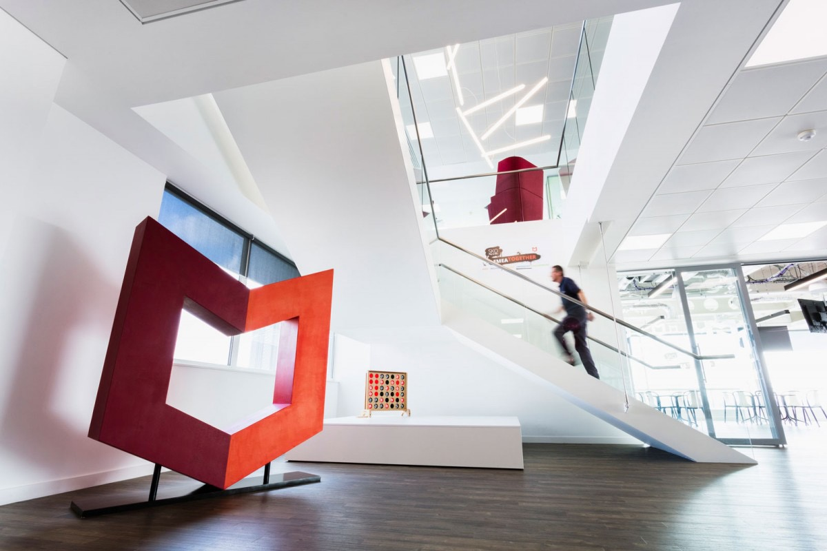 A Look Inside McAfee's New Slough Office - Officelovin'