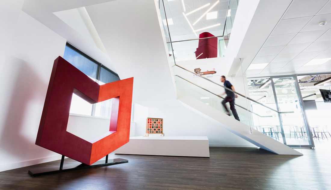 A Look Inside McAfee's New Slough Office