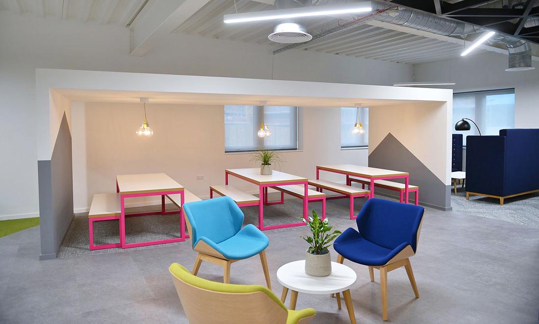 Inside SmartSearch's Playful New Ilkley Office
