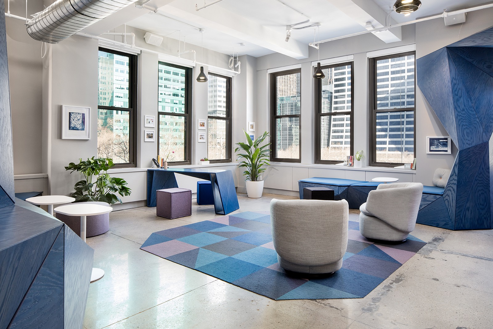 A Tour Of Sonic Union S Stylish NYC Studio Officelovin 39