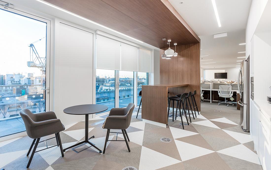 A Peek Inside The Raine Group's Elegant London Office