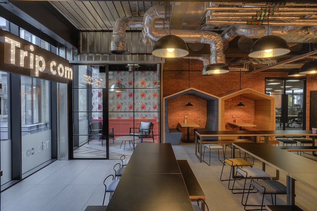 Inside Trip.com's Sleek New Edinburgh Office