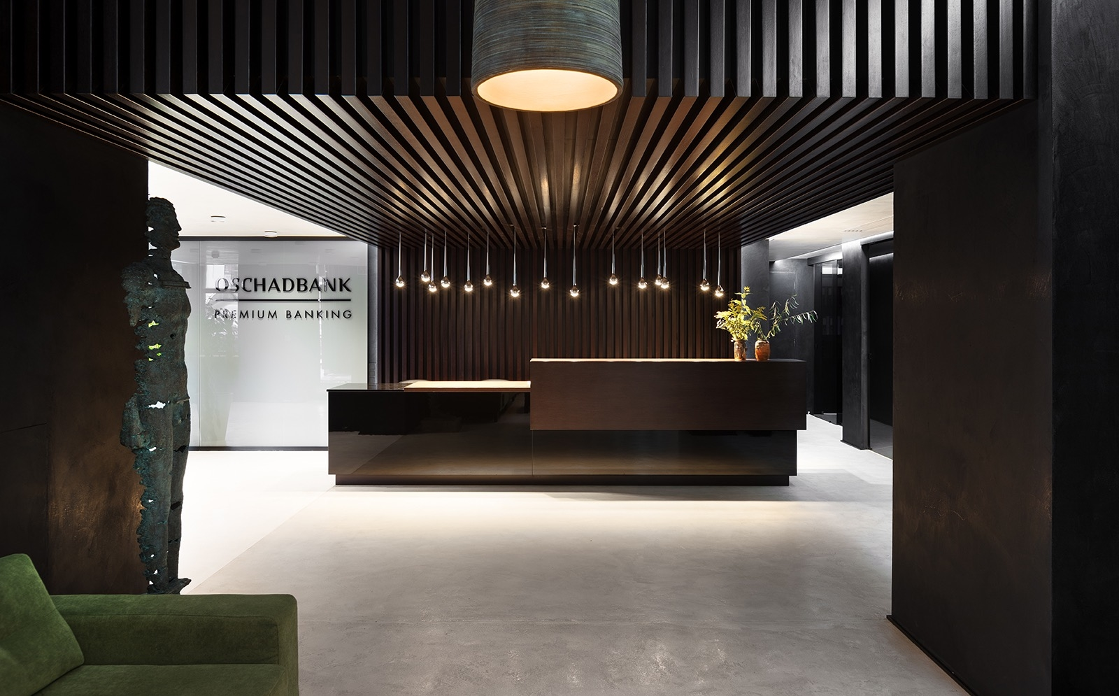 A Tour of Oschadbank's Contemporary Kiev Office