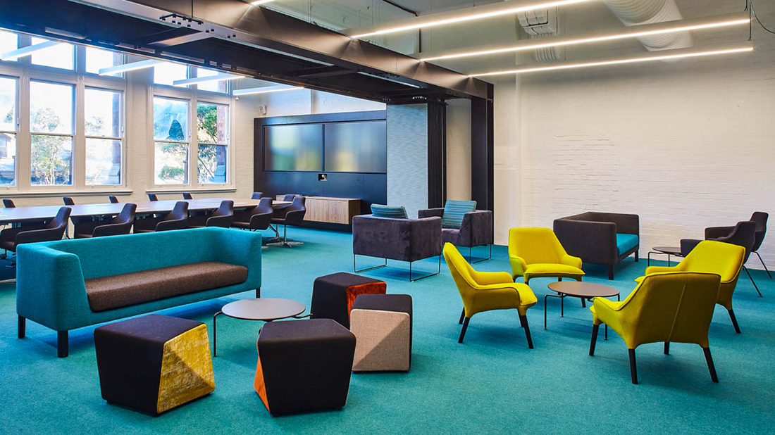 Inside TAFE NSW's New Sydney Office