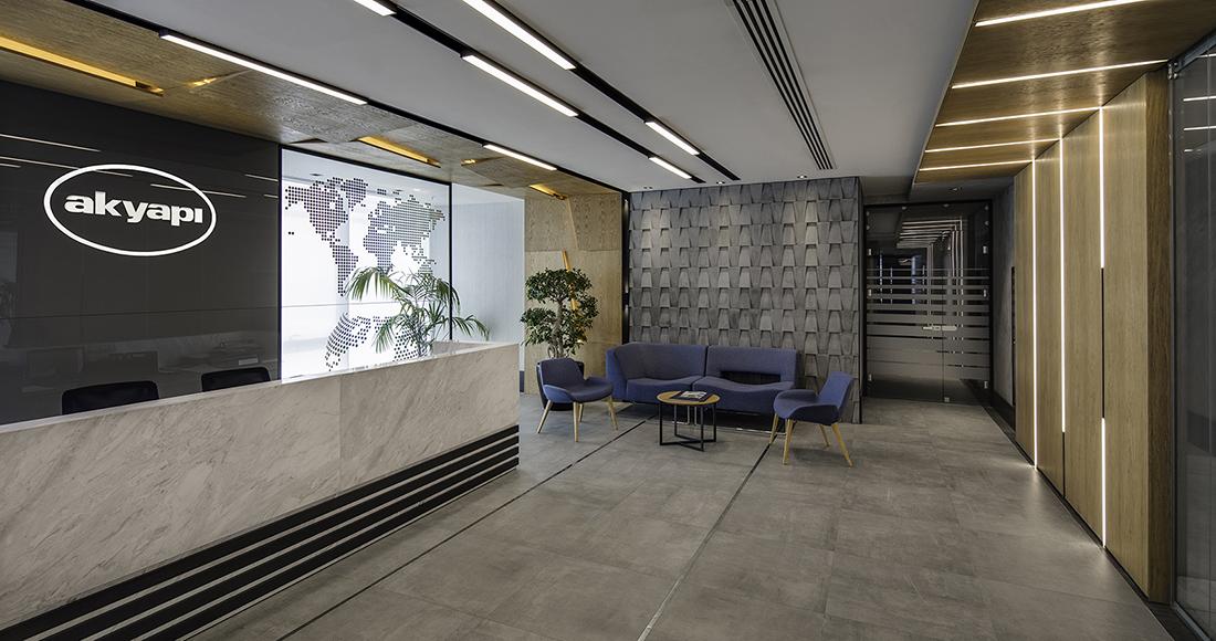 A Look Inside Akyapi's Elegant Istanbul Office