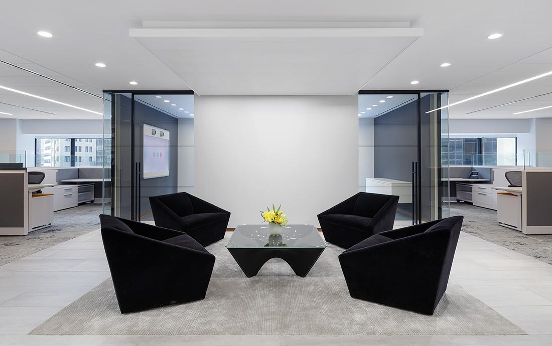 A Look Inside Aspen Insurance's Minimalist NYC Office
