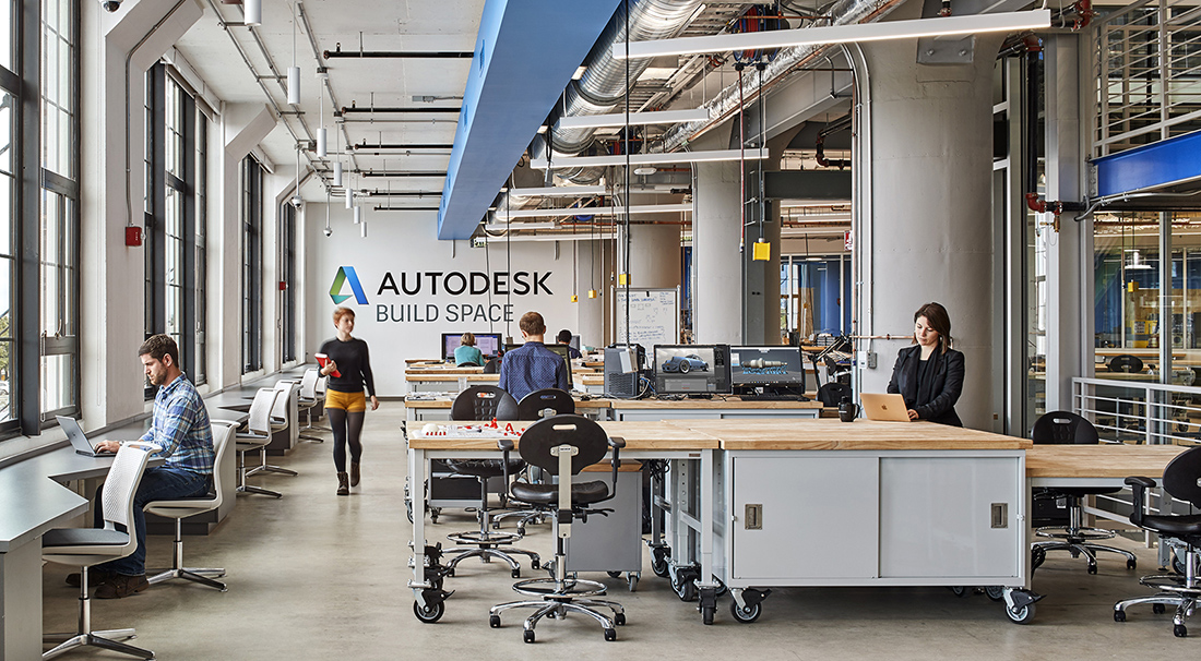 A Tour of Autodesk's New Boston Office