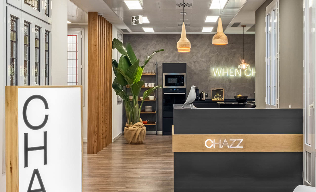 A Tour of Chazz's Cool New Madrid Office