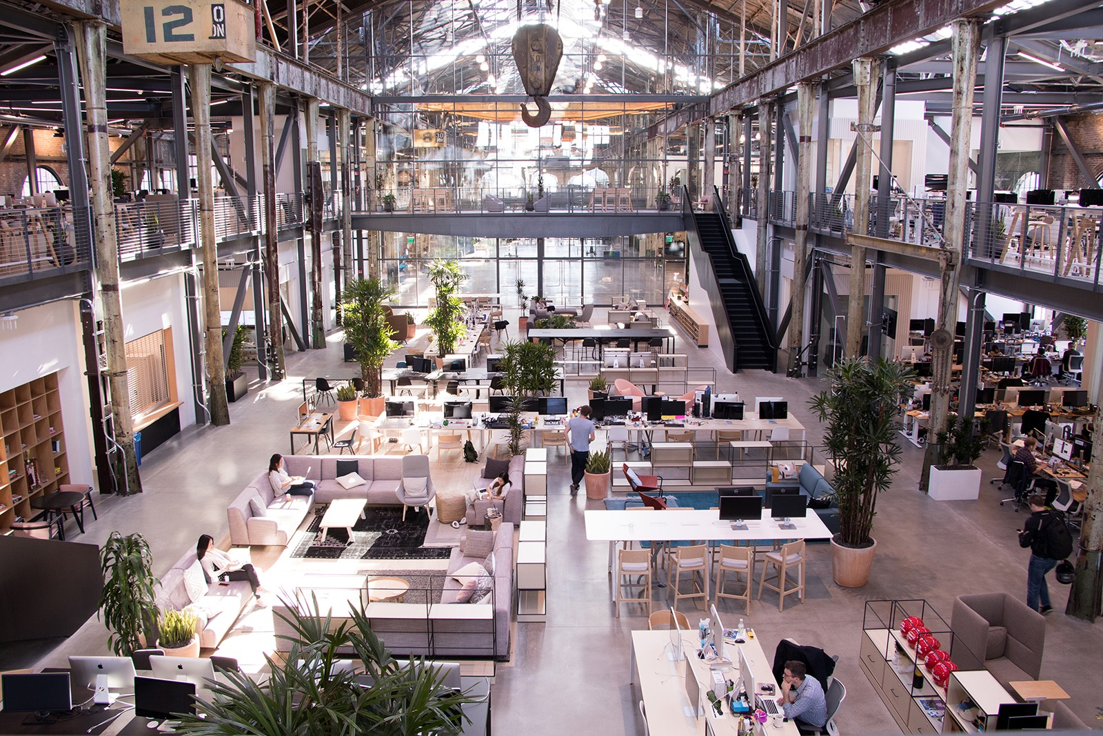 A Tour Of Gusto S Cool New San Francisco Office Officelovin