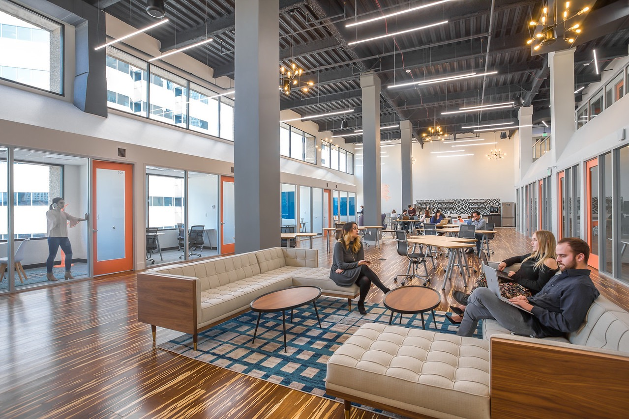 A Look Inside Level Office S New Denver Coworking Campus