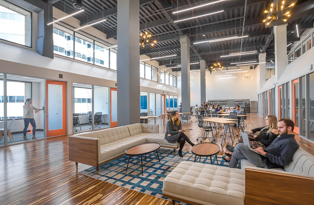 A Look Inside Level Office's New Denver Coworking Campus