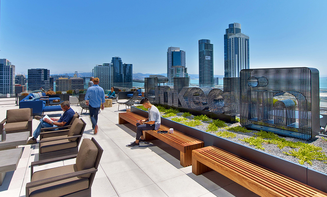 A Tour of LinkedIn's Cool San Francisco Headquarters
