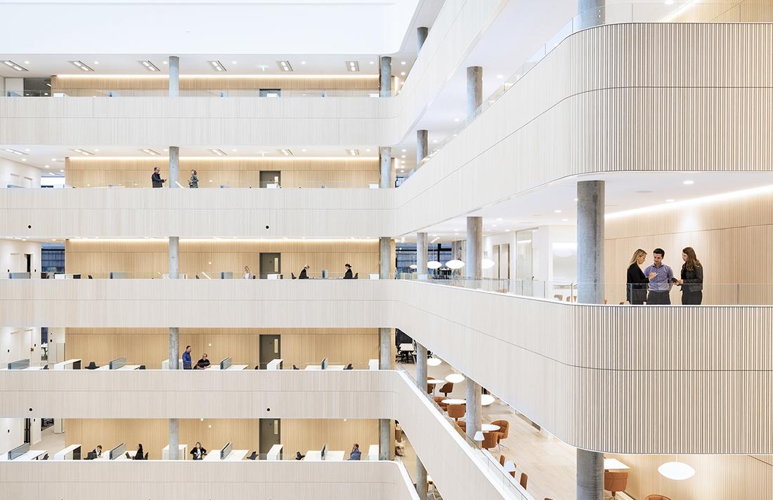 Inside Maersk Group's Modern Copenhagen Office