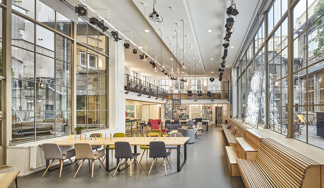 A Tour of Opero's Prague Coworking Space