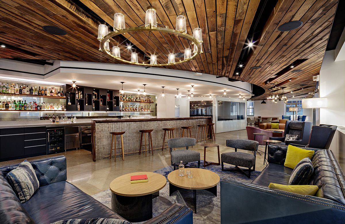 A Tour of Pernod Ricard's Elegant New NYC Office