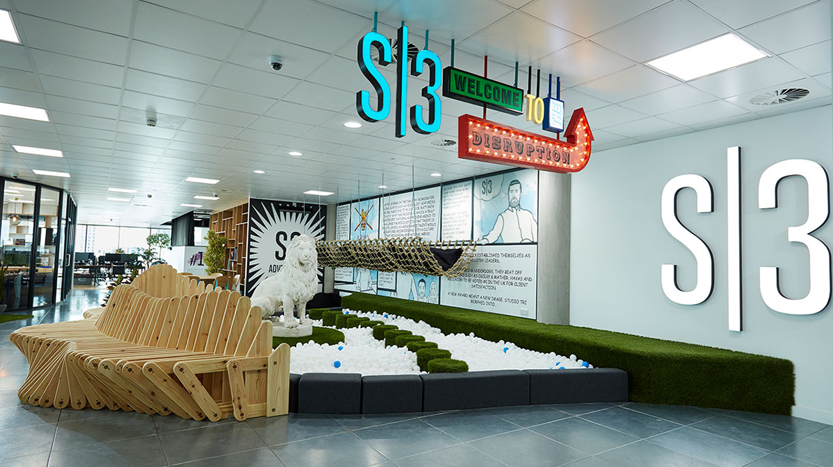 A Look Inside S3 Advertising's Hip Cardiff Office