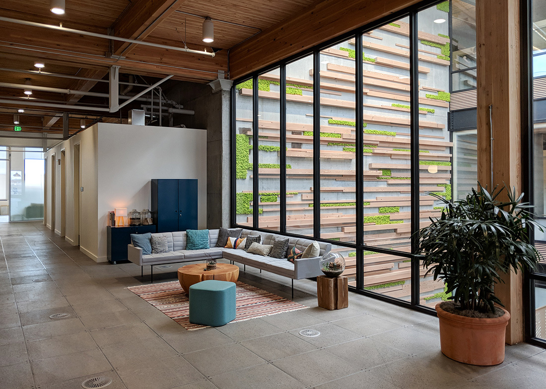 A Tour of Simple's Sleek New Portland Office Campus