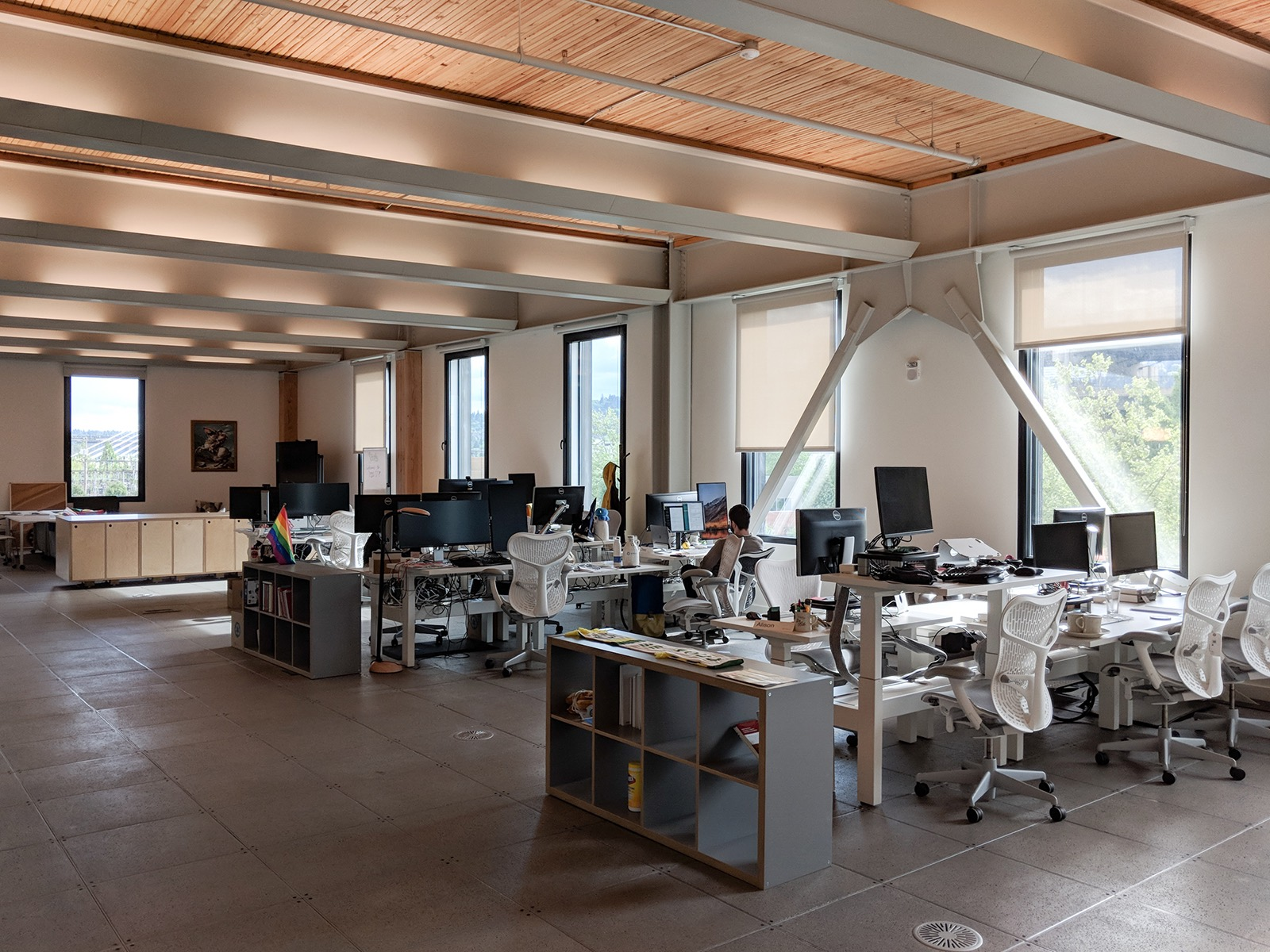 A Tour Of Simple S Sleek New Portland Office Campus