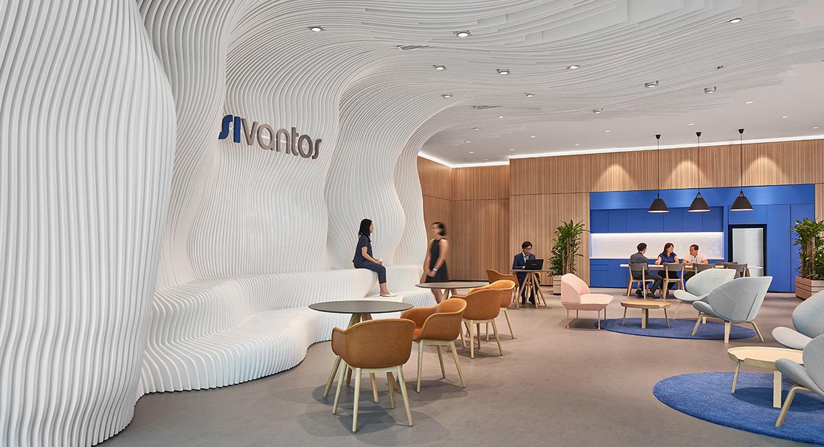 A Tour of Sivantos' Sleek New Singapore HQ