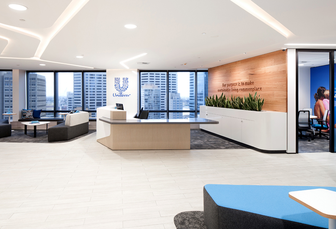 An Inside Look at Unilever's Sydney Office