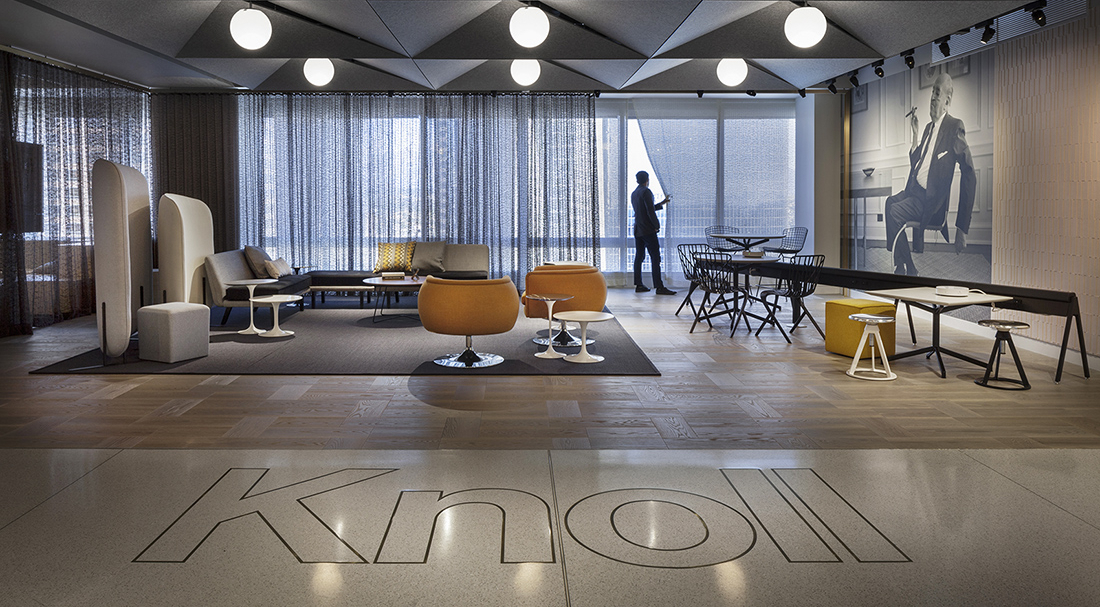 A Tour Of Knoll S Sleek New Los Angeles Office Officelovin
