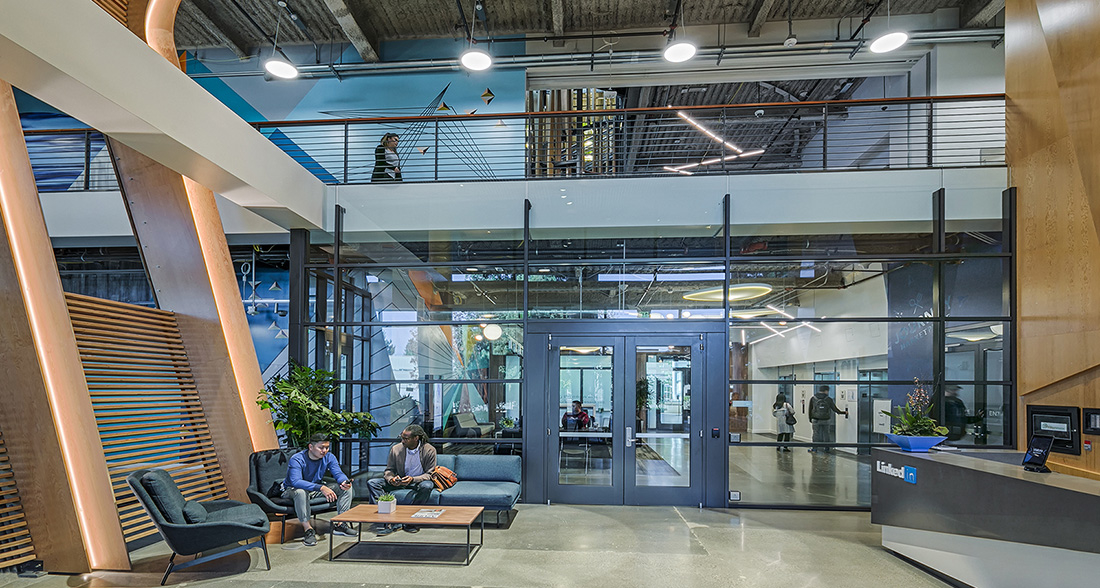 A Tour of LinkedIn's Sunnyvale Office – Buildings 950 and 1000