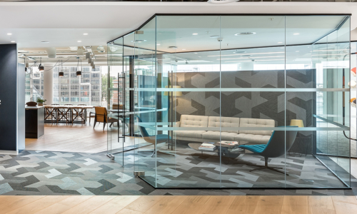 Office design for TishmanSpeyer