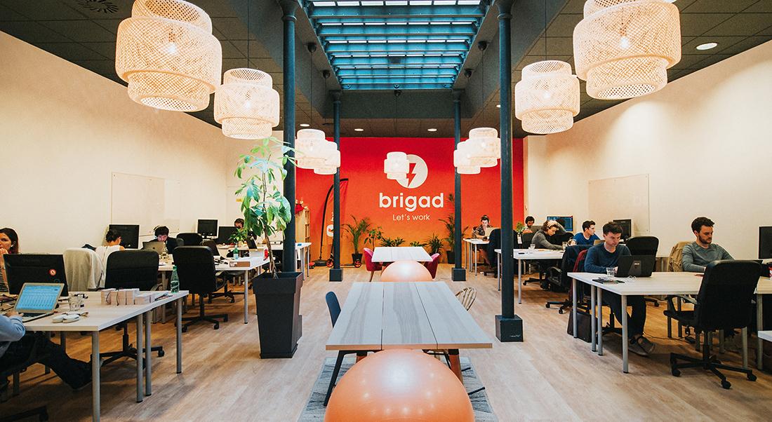 Inside Brigad's Cool New Paris Office