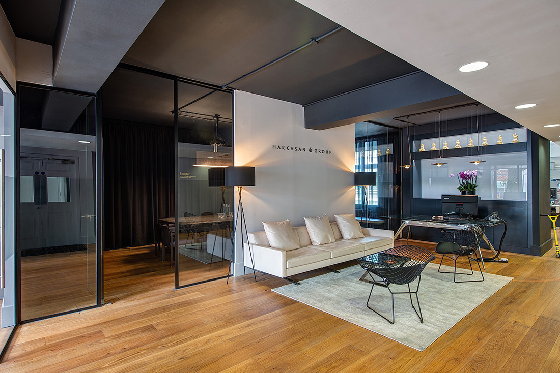 A Look Inside Hakkasan Group's Modern London Office