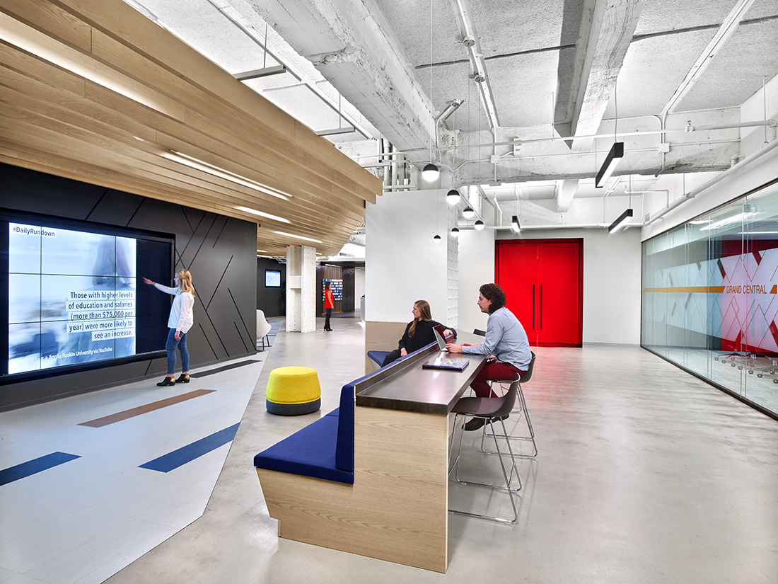 A Tour of LinkedIn's Modern NYC Office