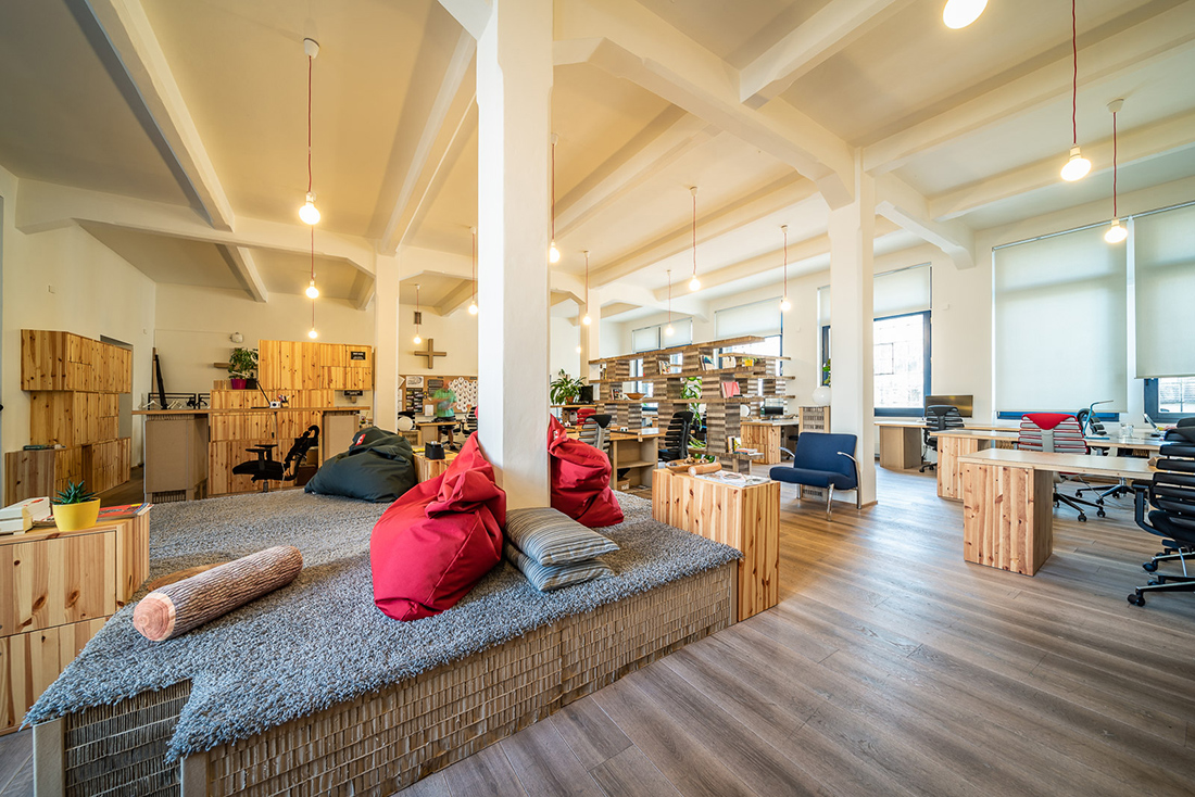 Another Look Inside Paper Hub's Prague Coworking Space