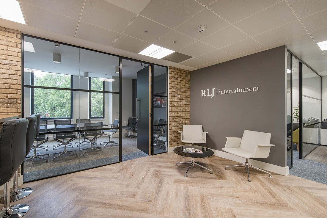 Inside RLJ Entertainment's New London Office