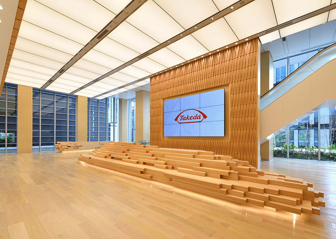 A Look Inside Takeda's New Tokyo HQ