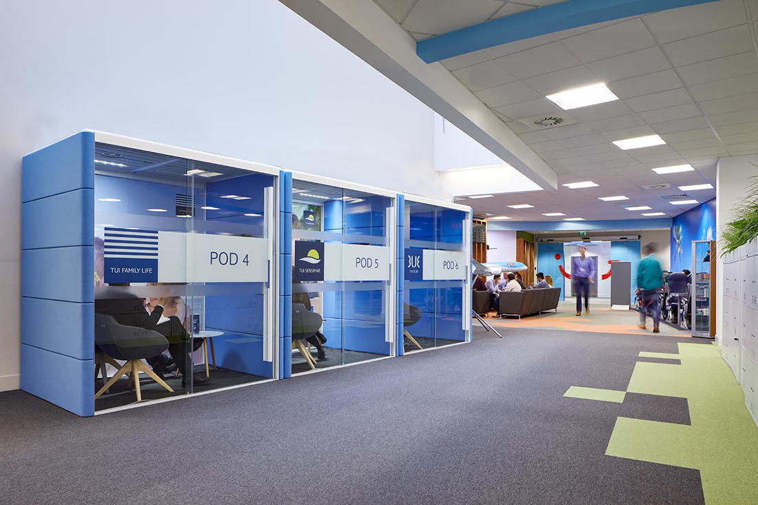 A Look Inside TUI's Modern Luton Office
