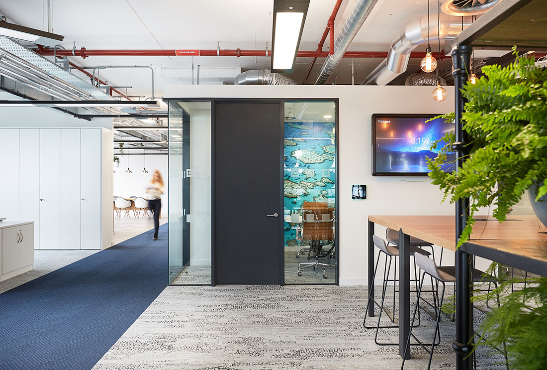 A Tour of Unnamed Company Offices in London
