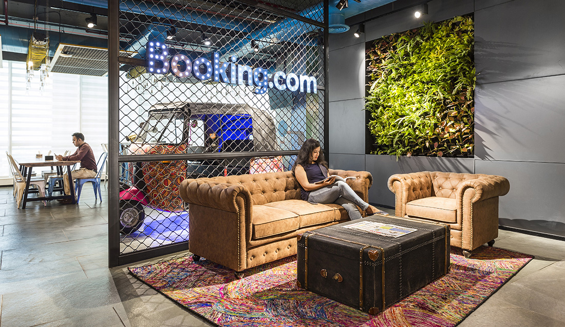 A Tour of Booking.com's Cool Mumbai Office