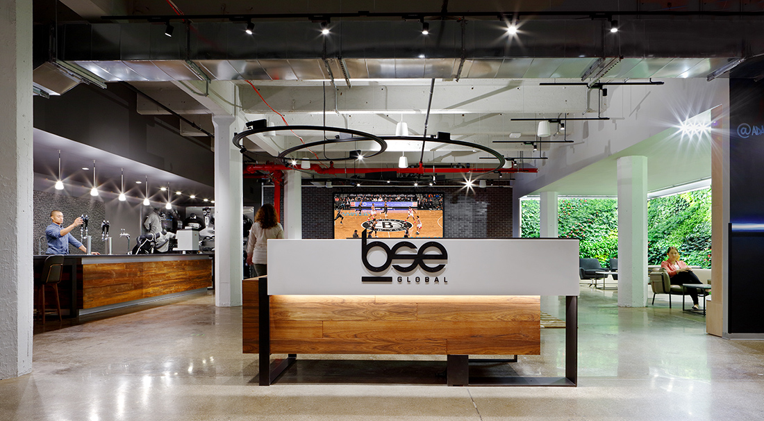 A Tour of BSE Global's Sleek New Brooklyn HQ