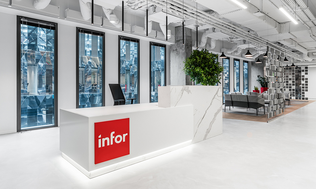 Inside Infor's Elegant Wroclaw Office