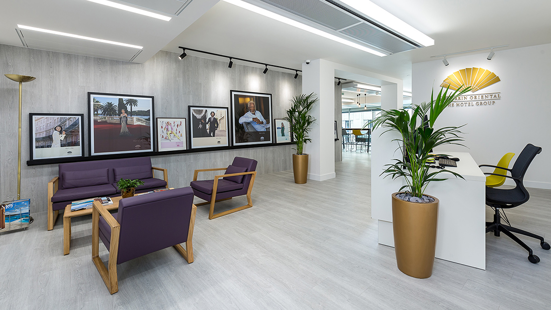 A Look Inside Mandarin Oriental Hotel Group's London Office