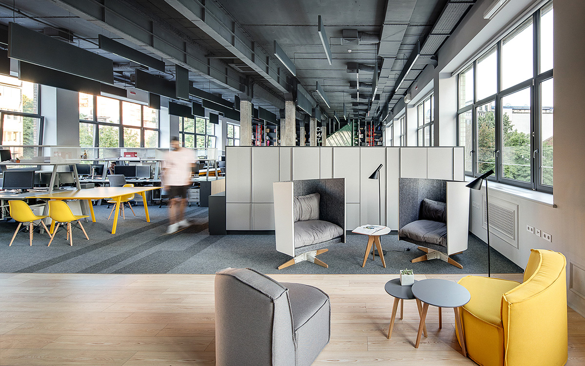 A Look Inside Archimatika's Modern Kiev Office