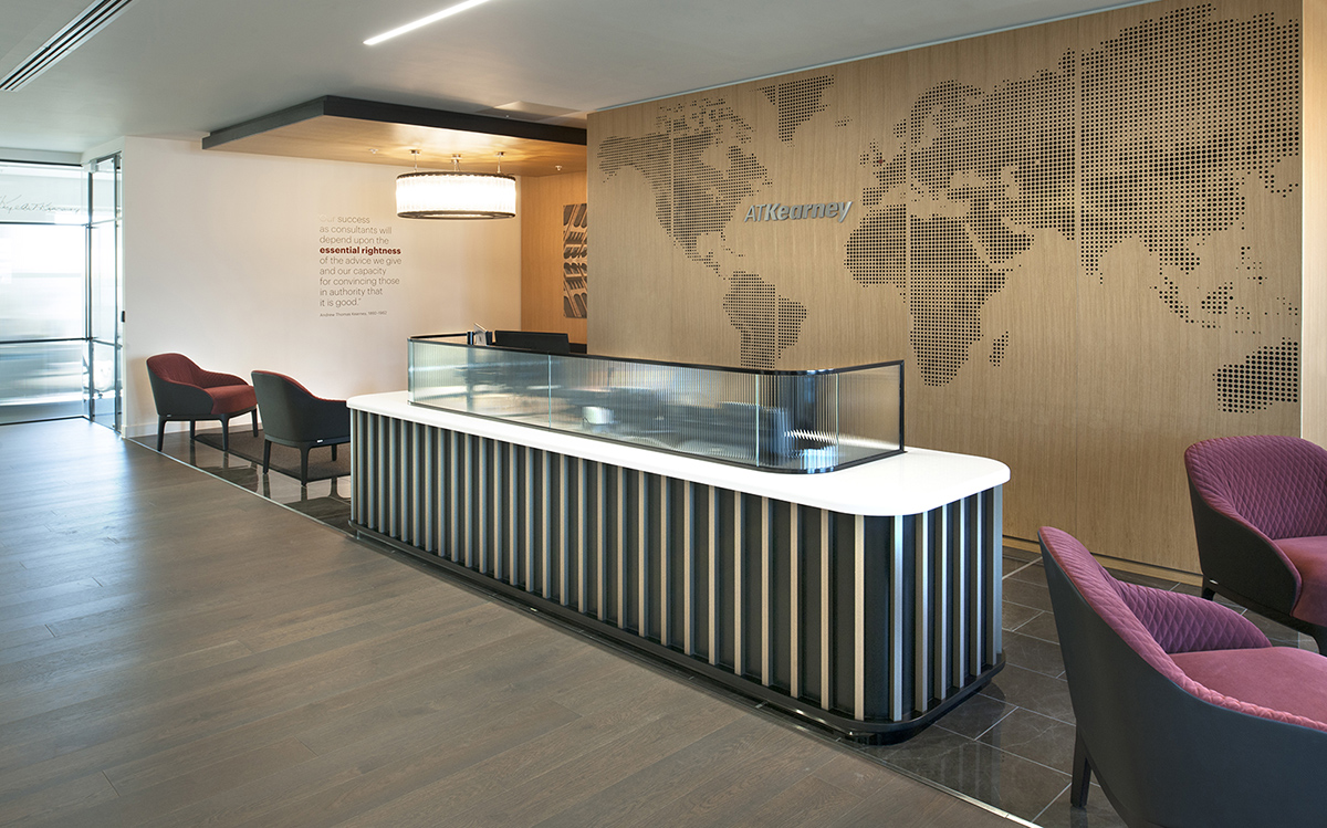 Inside A.T. Kearney's New London Office