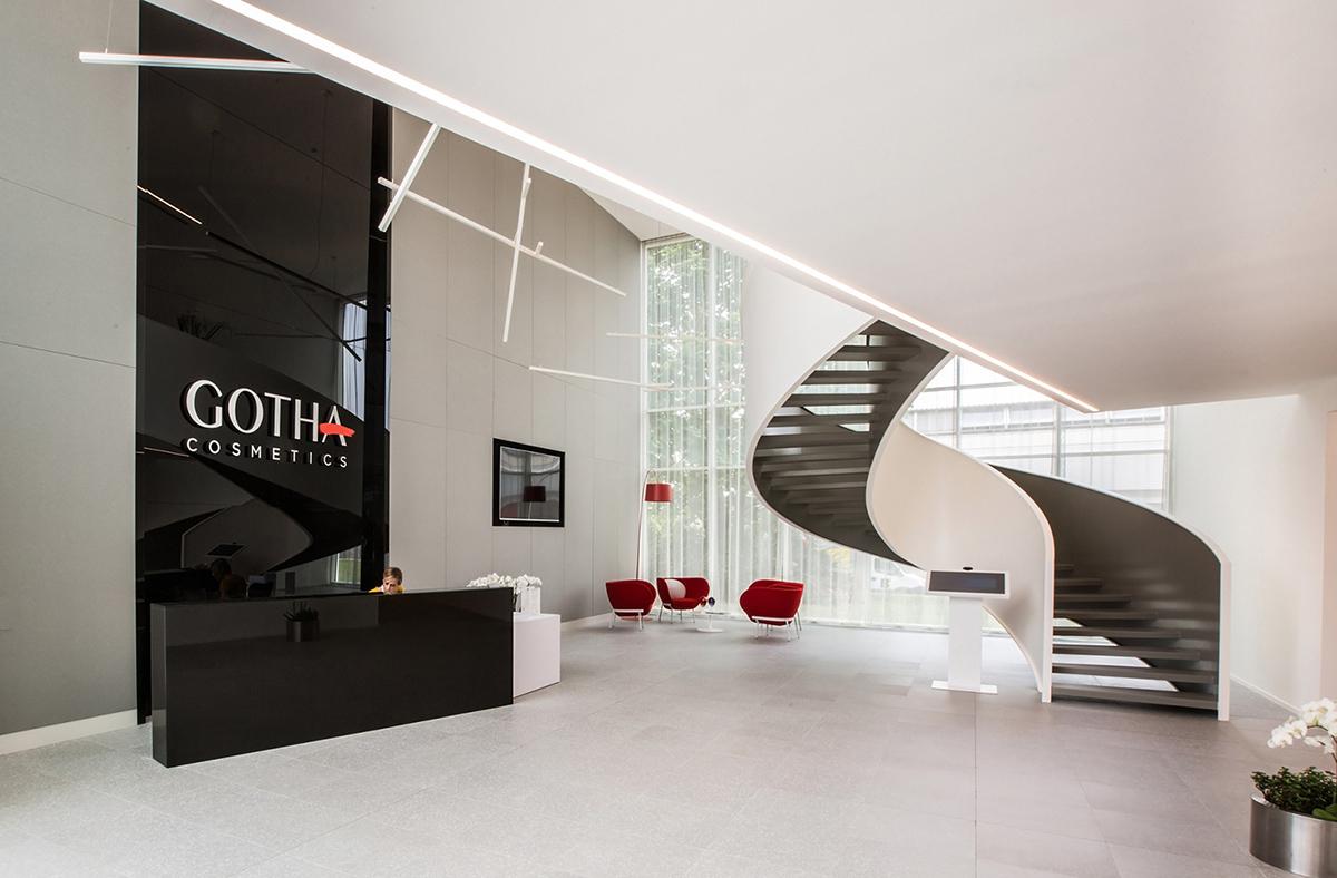 A Look Inside Gotha Cosmetics' Bergamo Office