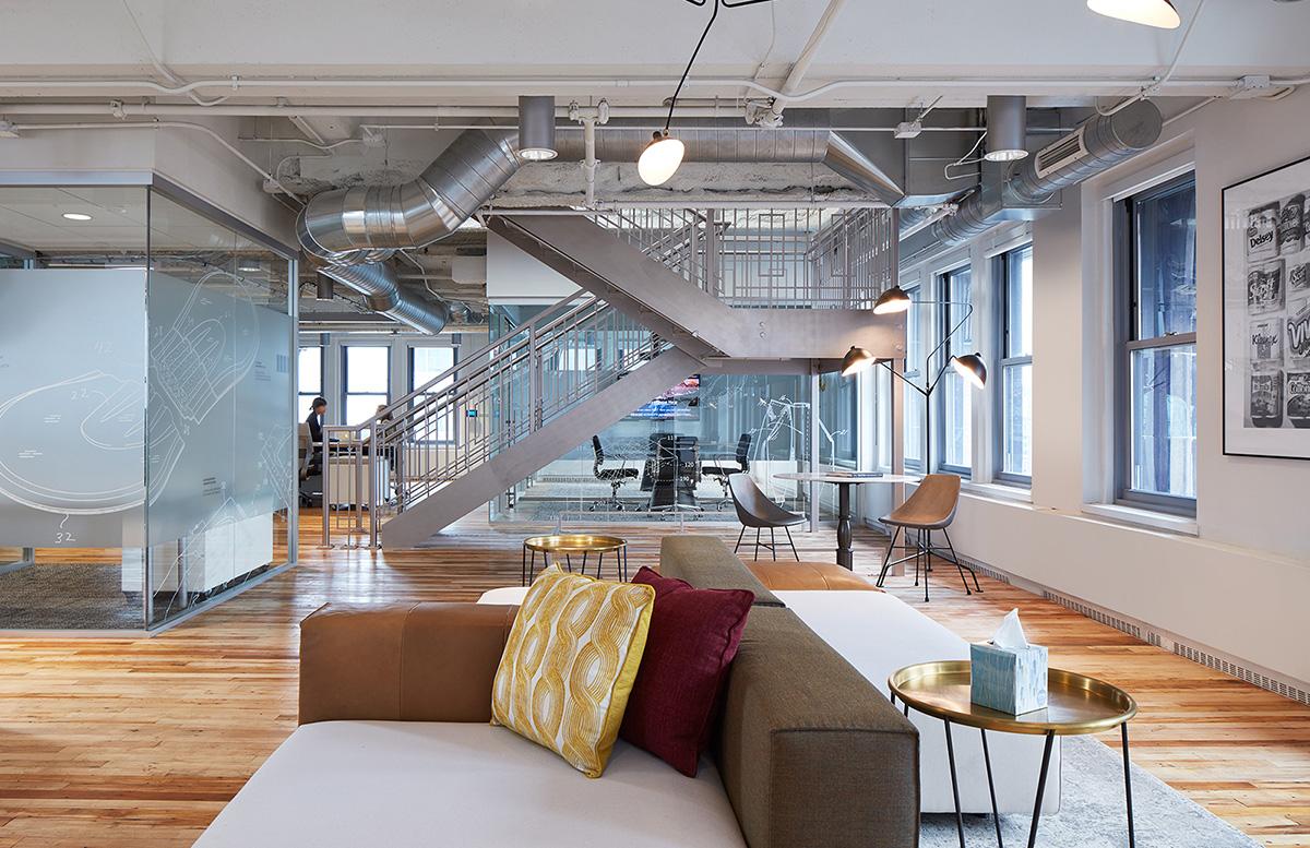 A Tour of Kimberly Clark's Sleek Chicago Office