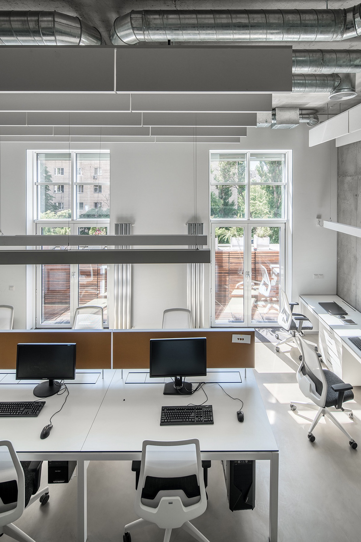 Laboratory Room Design: A Look Inside YOD Design Lab's Modern Kiev Office