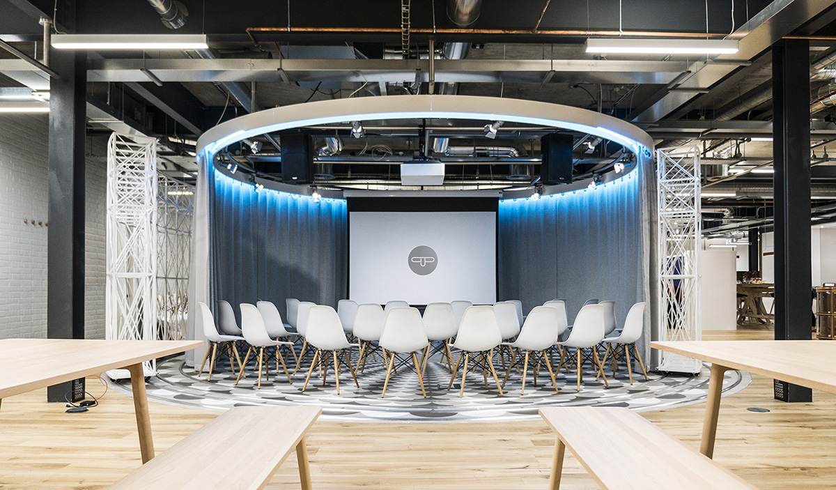 A Look Inside GPJ's Modern New London Office